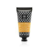 Интенсивно увлажняющий крем для рук насыщенной текстуры с гиалуроновой кислотой и мёдом APIVITA