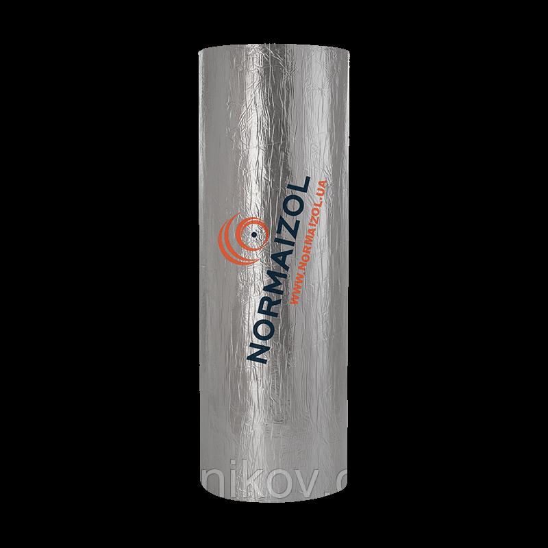 Алюфом® RC синтетический каучук с высокоадгезивной клеящей основою и покрытием из алюминиевой фольги 6 мм.