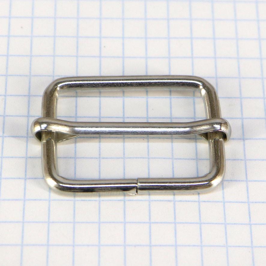 Регулятор 30 мм никель для сумок t4186 (20 шт.)