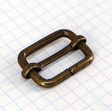 Регулятор пряжка перетяжка 20 мм антик для сумок t4190 (20 шт.)