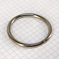 Кольцо 40*4 мм никель для сумок a5723 (20 шт.)