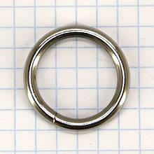 Кольцо 20x3 мм никель для сумок a5705 t4342 (50 шт.)