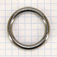 Кольцо 25*4 мм никель для сумок a5709 (50 шт.)