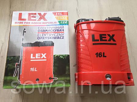 ✔️ Опрыскиватель аккумуляторный - LEX PROFI _ 16L, фото 2