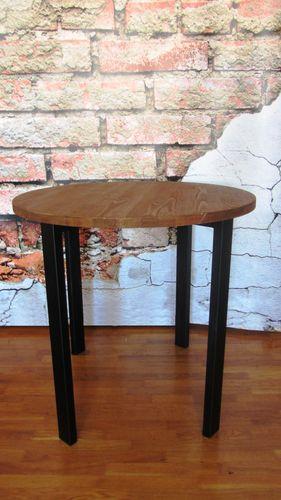Стол обеденный круглый 80*75 см Loft (Лофт) (стол 2)