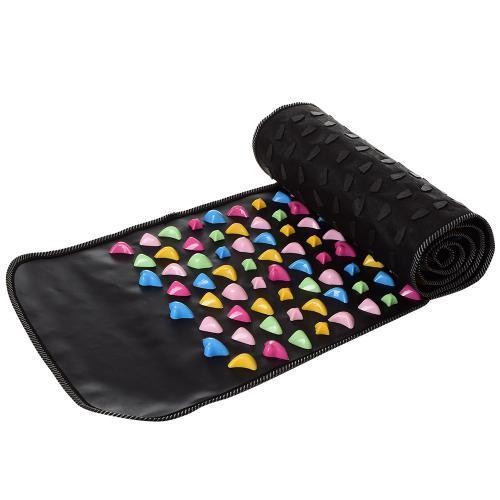 Массажный ортопедический коврик дорожка для ног с камнями 177 см MS 2886