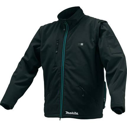 Акумуляторна куртка з підігрівом Makita CXT, 10,8 (XL) CJ102DZXL, фото 2