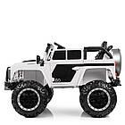 Детский электромобиль LAND ROVER M 4150 EBLR-1 белый, фото 7