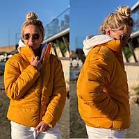 Женская модная дутая курточка синтепон 200, фото 1