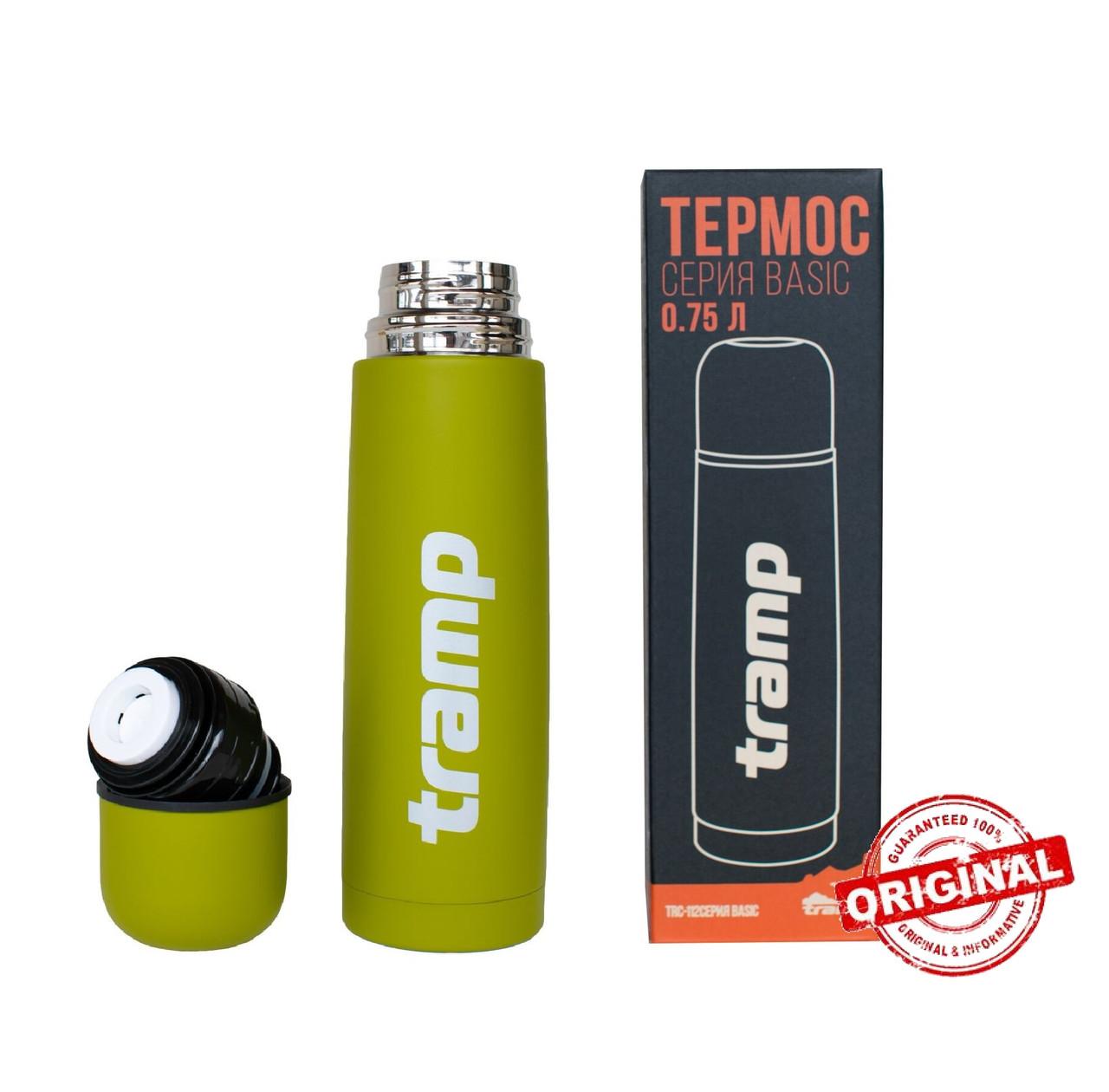 Термос Tramp Basic олива 0,75 л. TRC-112-olive Термос трамп