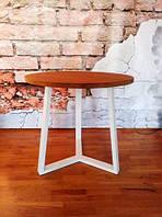 Стол обеденный круглый 80*75 см Loft (Лофт) (стол 1), фото 1