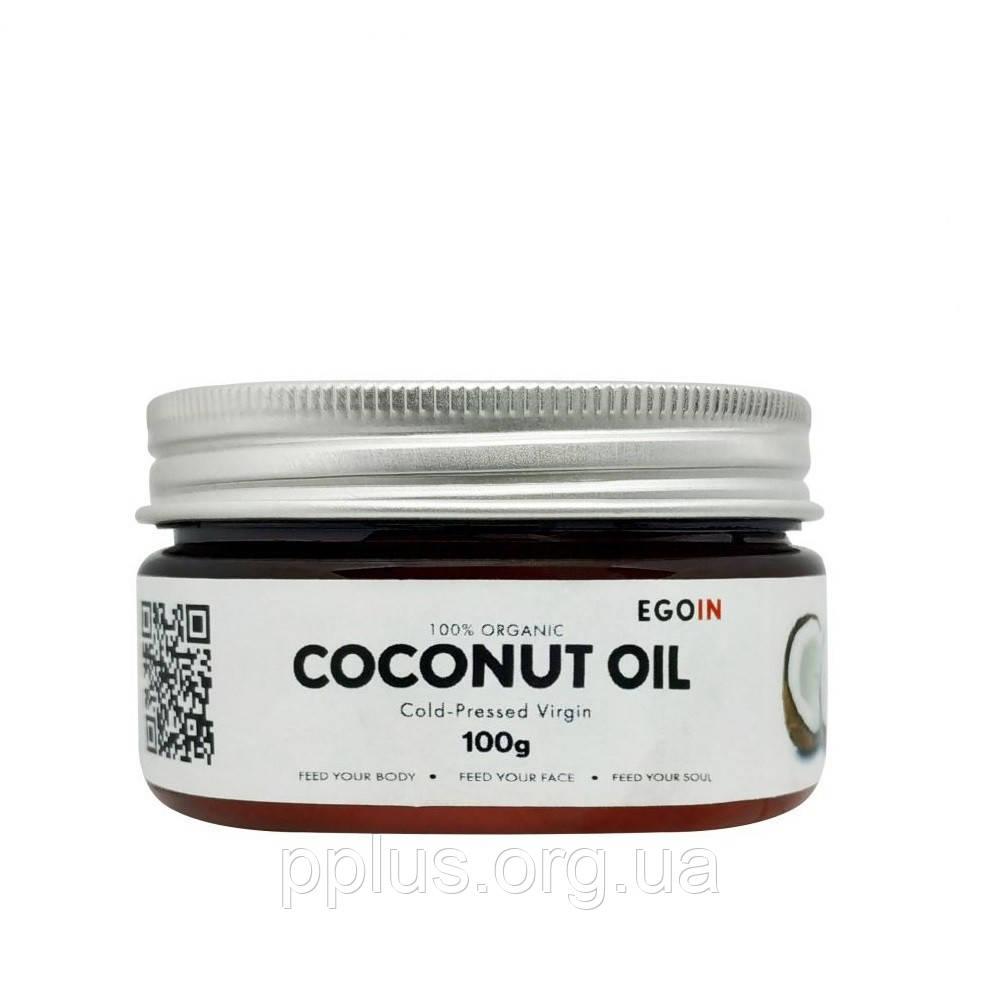 Кокосовое масло EGOIN Cold-Pressed Virgin Coconut Oil 100 г
