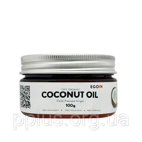 Кокосовое масло EGOIN Cold-Pressed Virgin Coconut Oil 100 г, фото 2