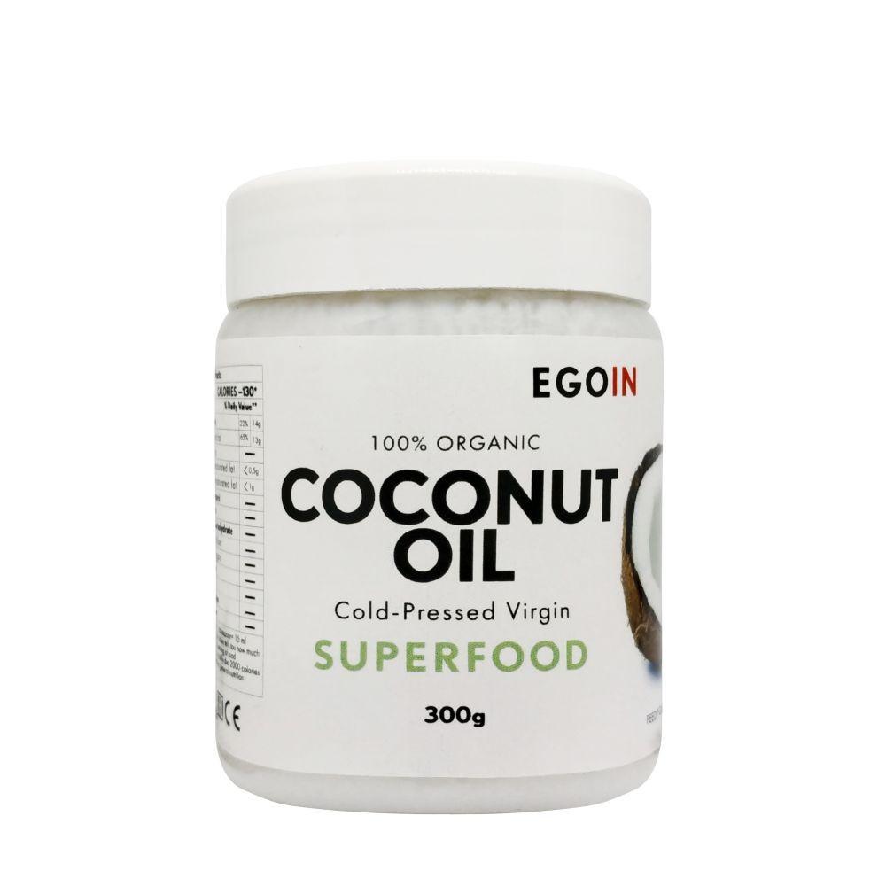 Кокосовое масло EGOIN Cold-Pressed Virgin Coconut Oil 300 г