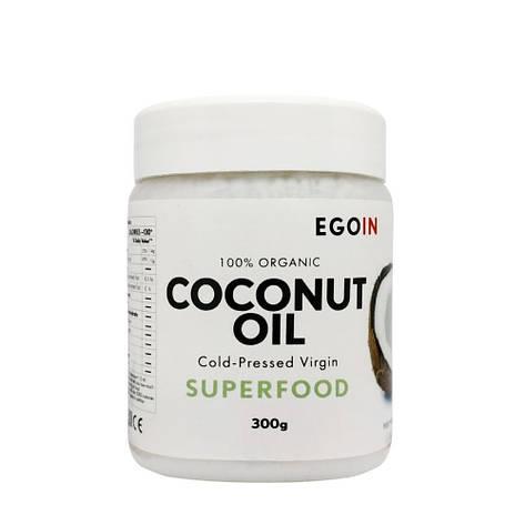 Кокосовое масло EGOIN Cold-Pressed Virgin Coconut Oil 300 г, фото 2