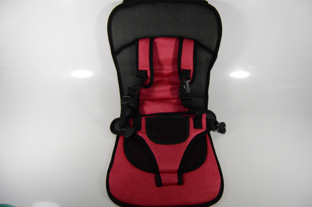 Бескаркасное детское автокресло Child car cushion NY 26- кресло безопасности
