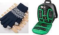 Рюкзак Tigernu CB1 для фотоапарату Красный, Сумка для камери і об'єктивів