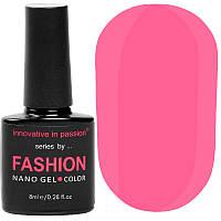 Гель-лак Innovative in Passion серия Fashion № 225 (розовый Барби, неоновый, эмаль), 8 мл