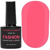 Гель-лак Innovative in Passion серия Fashion № 226 (розовый, неоновый, эмаль), 8 мл