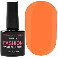 Гель-лак Innovative in Passion серия Fashion № 233 (розово-оранжевый, неон), 8 мл