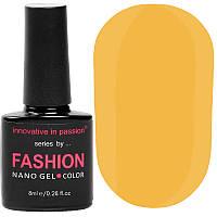 Гель-лак Innovative in Passion серия Fashion № 237 (светло-оранжевый, эмаль), 8 мл