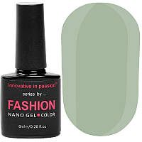 Гель-лак Innovative in Passion серия Fashion № 243 (серый, эмаль), 8 мл