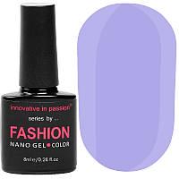 Гель-лак Innovative in Passion серия Fashion № 245 (фиолетово-голубой, эмаль), 8 мл