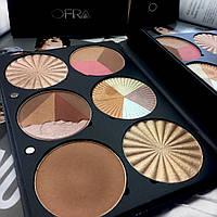 Набор хайлайтеров-бронзеров OFRA Pro Palette