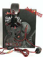 Игровые наушники для компьютера Jedel 9905 с подсветкой и микрофоном