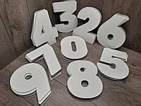 Трафарет цифра ДВП набор