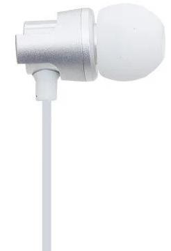 Вакуумные наушники с микрофоном Celebrat C8 Super Bass Белые, фото 2