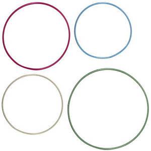 Набор обручей для детей M 5968-3 4 штуки диаметр 84/77/72/66 см