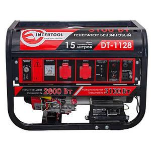Генератор бензиновый 3.1 кВт 4-х тактный INTERTOOL DT-1128