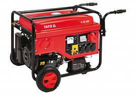 Генератор трехфазный бензиновый 5500 Вт Yato YT-85460