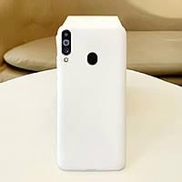 Чехол Soft Touch для Samsung Galaxy A20s (A207) силикон бампер матовый