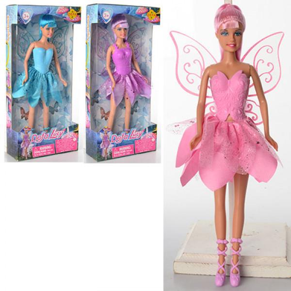 Кукла DEFA фея, с крыльями, 29см
