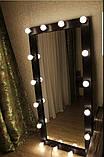Зеркало с подсветкой в полный рост для дома и салона красоты 1800*700, фото 6