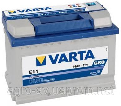 Аккумулятор 74Ah-12v VARTA BD(E11) (278x175x190),R,EN680