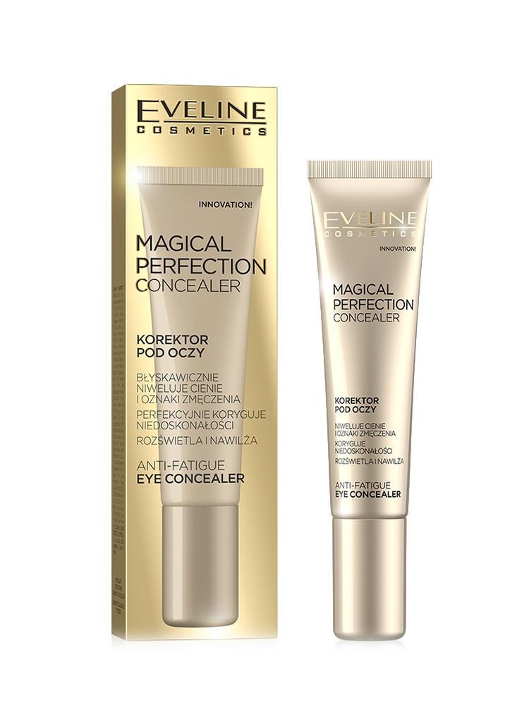 Консилер под глаза пастель «Magical Perfection» Light, Eveline Cosmetics, 15 мл Эвелин