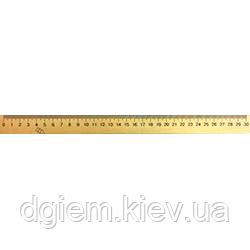 Лінійка дерев'яна 30 см