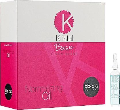 Масло для пошкодженого волосся - BBcos Kristal Basic Normalizing Oil,12*10