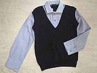 Рубашка-обманка для мальчика р. 122