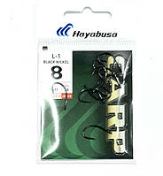 Короповий гачок Hayabusa L-1 black Nickel