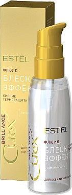 Флюїд блиск c термозахистом для всіх типів волосся Estel Professional Curex Brilliance Fluid,100мл