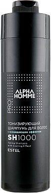 Тонізуючий шампунь для волосся з охолоджуючим ефектом - Estel Alpha Homme 1000ml