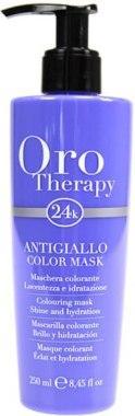 "Тонуюча маска для волосся ""З антижелтым ефектом"" - Fanola Oro Therapy Colouring Mask 250ml"