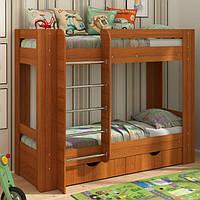 Двухъярусная кровать с ящиками для белья Дуэт-3