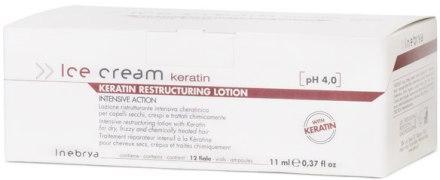 Лосьйон для сухого і пошкодженого волосся - Inebrya Keratin Restructuring Lotion 130ml
