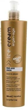 Маска с аргановым маслом для окрашенных волос - Inebrya Argan Oil Pro Age Mask 300ml