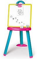 Детский мольберт со съемной доской и аксессуарами Smoby 410608 доска для рисования (дошка для малювання), фото 1